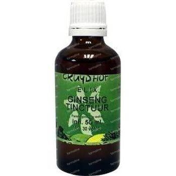 Elix Ginseng tinctuur bio 50 ml