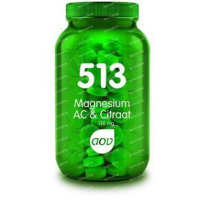 AOV 513 Magnesium AC & Citraat 150 mg 180 tabletten