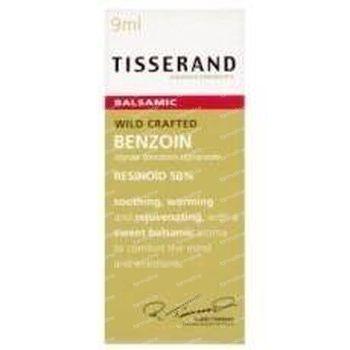 Tisserand Benzoin resinoid 50% wild crafted 9 ml