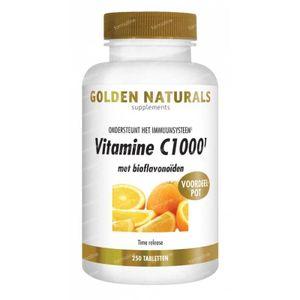 Golden Naturals Vitamine C 1000 250 tabletten