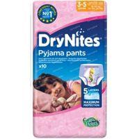 Huggies Drynites girl 3-5 jaar 10 stuks