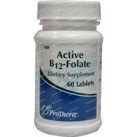 Klaire Labs Vitamine B12 folaat actief 60  tabletten