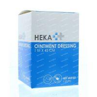 Heka Ointment dressing / Engels pluksel 1 m x 45 cm 1 stuks