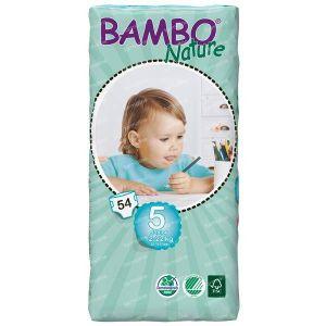 Bambo Babyluier junior 5 12-22 kilogram 54 pieces