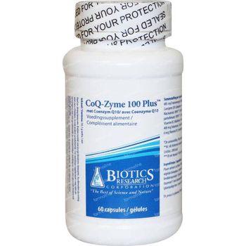 CoQ zyme 100 plus 100 mg 60 capsules