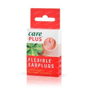 Care Plus Earplugs flexible 4 Stuks