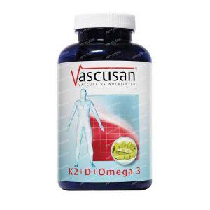 Vascusan K2 vitamine D omega 3 60 capsules