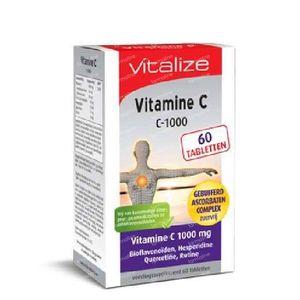 Vitalize Vitamine C ascorbatencomplex 60 tabletten
