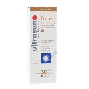Ultrasun Face tinted SPF 30 50 ml crème