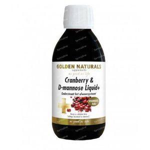 Golden Naturals Cranberry D mannose liquid 500 ml