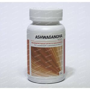 Ayurveda Health Ashwagandha withania somnifera 120 tabletten