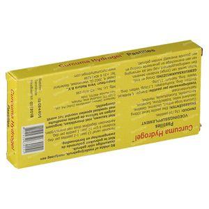 Curcuma Hydrogel Kurkuma extract pastilles 100 mg 10 stuks pastilles