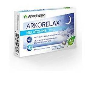 Arkorelax Melatonine 3 mg 30 tabletten