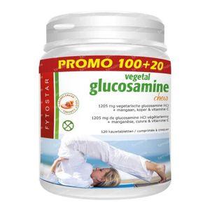 Fytostar Glucosamine chew maxi 120 stuks tabletten