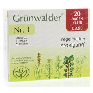 Grunwalder 1 try out 20 Stuks Tabletten