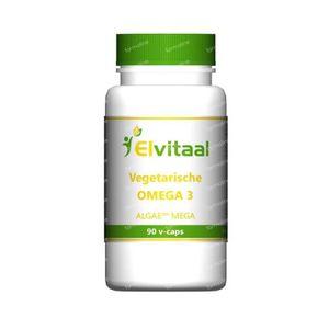Elvitaal Omega 3 vegetarisch 90 Stuks vcaps