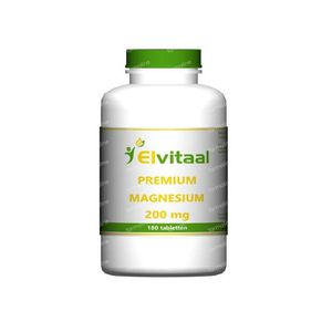 Elvitaal Magnesium 200 mg premium 180 stuks Tabletten