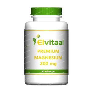 Elvitaal Magnesium 200 mg premium 90 stuks Tabletten