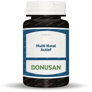 Bonusan Multi natal actief 60 Stuks Tabletten