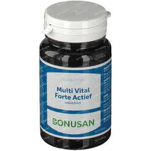 Bonusan Multi vital forte actief 60 St Tabletten