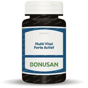 Bonusan Multi vital forte actief 60 stuks tabletten