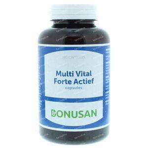 Bonusan Multi vital forte actief 180 stuks vcaps