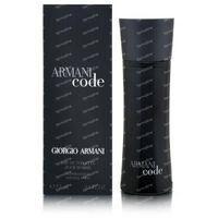 Armani Code eau de toilette vapo men 75 ml
