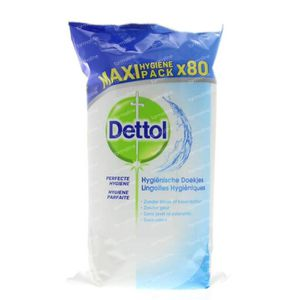 Dettol Hygienische schoonmaakdoekjes 80 stuks