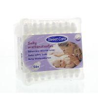 Sweetcare Wattenstaafjes baby 56 stuks