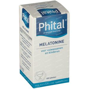 Phital Melatonine 0.1 mg 500  Tabletten