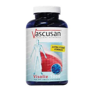 Vascusan Visolie 1000 180 softgels