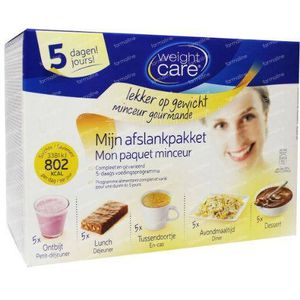 Weight Care Afslankpakket 5 dagen 1 set