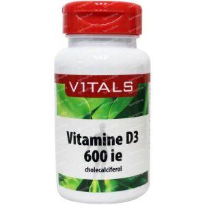Vitals Vitamine D3 600IE 100 capsules