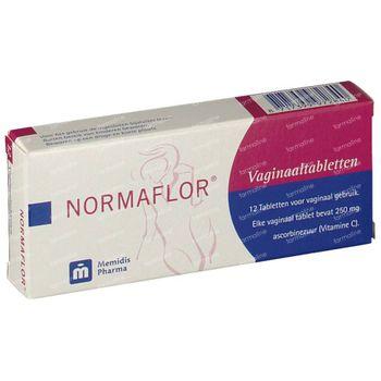 Normaflor Vaginale tabletten 12 stuks