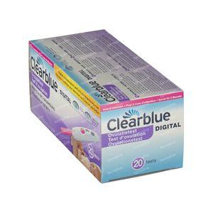 Clearblue Digitale ovulatietest 20 stuks