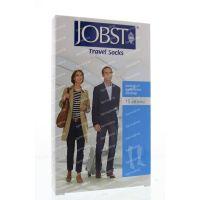Jobst Travel socks zwart maat 4 (43-44) 1 paar paar