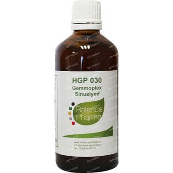 Balance Pharma HGP030 Gemmoplex sinuslymf 100 ml