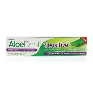 Optima Aloe dent aloe vera tandpasta sensitive 100 ml