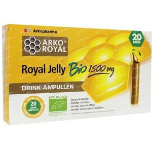 Arko Royal Royal jelly 1500 mg 20 ampullen