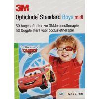 3M Opticlude oogpleister midi boys Disney 50 stuks
