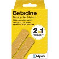Image of Betadine Desinfecterende pleisters 20 stuks