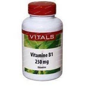 Vitals Vitamine B1 thiamine 250 mg 100 capsules