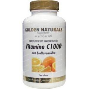 Golden Naturals Vitamine C 1000 90 tabletten