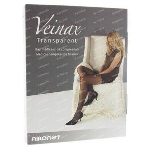 Veinax Kniekous Transparant Licht Beige Maat 1 1 paar