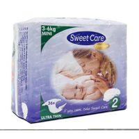 Sweetcare Premium mini maat 2 3-6 kg 36 stuks