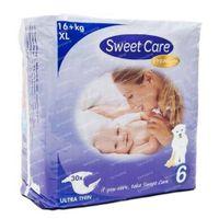 Sweetcare premium XL maat 6 16+ kg 30 stuks