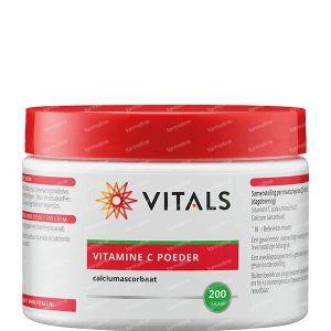 Vitals Vitamine C poeder (calciumascorbaat) 200 g