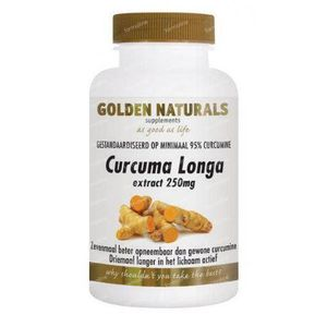 Golden Naturals Curcuma longa 60 capsules