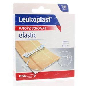 Leukoplast Elastic 1 m x 8 cm 1 stuks
