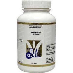 Vital Cell Life Magnesium citraat 80 mg poeder 100 g